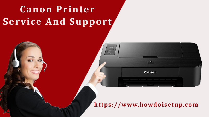 Canon printer service and support