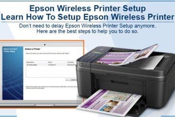 Epson Wireless Printer Setup
