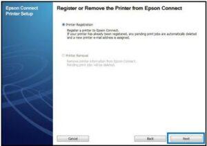 Epson Wireless Printer Setup On Window 2